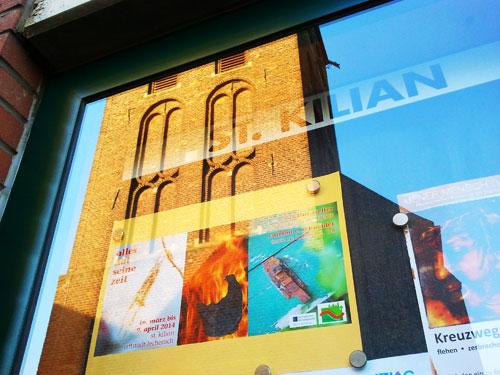 """Ausstellung """"Alles hat seine Zeit"""" in St. Kilian, Erftstadt-Lechnich"""