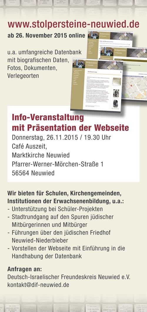www.stolpersteine-neuwied.de geht online
